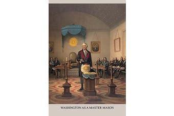 "Buyenlarge 0-587-24843-2-P1218 ""Symbols-Washington As a Free Mason"" Paper Poster, 30cm x 46cm"