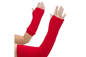 CastCoverz! Armz! Washable and Reusable Cast Cover in Real Red - Medium Short