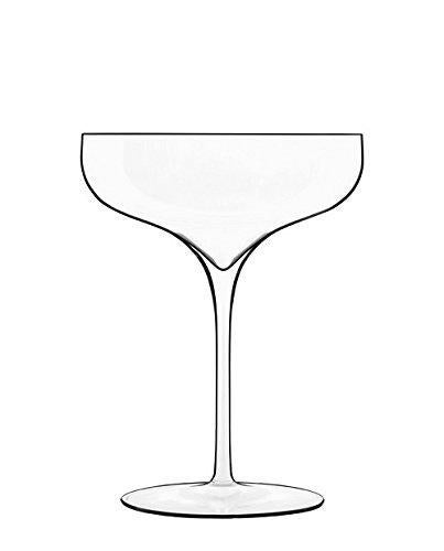 Luigi Bormioli Luigi Bormioli Vinea Coupe Moscato Spumante Stem Glasses Set Of 2 310ml Clear Matt Blatt