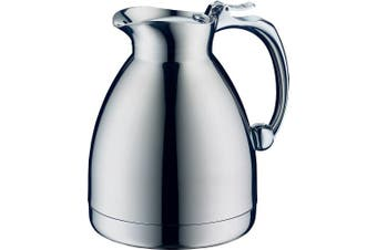 (.6 Litre) - Alfi Hotello Vacuum Insulated Thermos Carafe for Hot and Cold Beverages, .60 L, Stainless Steel
