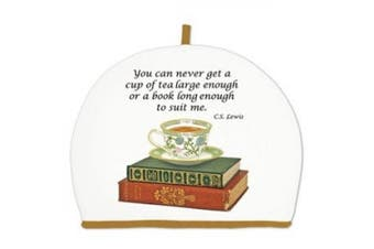 Alice's Cottage Teacup and Books Cotton Tea Cosy Cosy