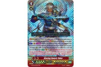 Cardfight!! Vanguard TCG - Blazing Sword, Fides (G-BT08/003) - G Booster Set 8: Absolute Judgement