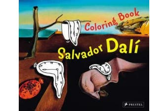 Salvador Dali (Colouring Book)
