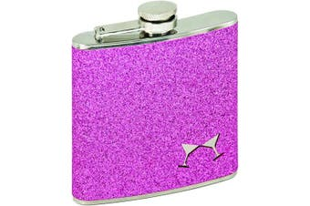 (Pink) - Sparkletini 180ml Party Flask Pink by Blush