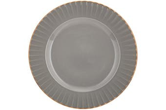 (Accent Plate, Grey) - Marchesa Shades of Grey Accent Plate by Lenox