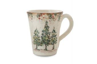 Arte Italica Natale Mug, Cream