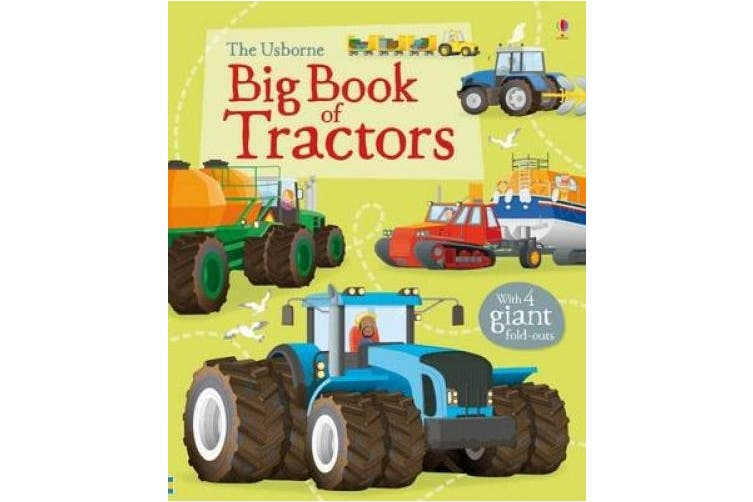 Big Book of Tractors (Big Books of Big Things)