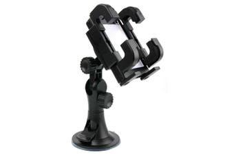 Firm Anti-Shake In-Car Windscreen & Dashboard Phone Mount for TomTom GO 50 | Start 50 13cm Sat Nav - by DURAGADGET