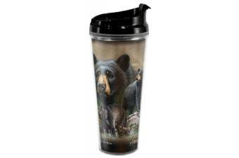 (Black Bear) - American Expedition 710ml Tall Tumbler - BLACK BEAR Collage