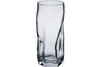 Bormioli Rocco Sorgente 440ml Cooler Glasses, Set of 6, Clear