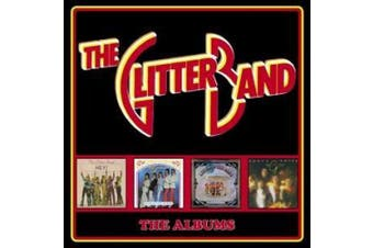 Glitter Band, T: Albums-Deluxe 4CD Boxset