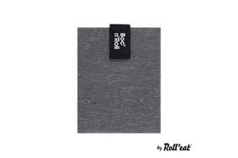 (Black) - Roll'eat BR-EC Black - Boc'n'Roll Eco Reusable Sandwich Carrier - Grey