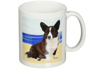 (330ml) - 3dRose Cardigan Welsh Corgi Ceramic Mug, 330ml