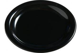(14cm  Bread & Butter Plate, Black) - Carlisle 4385603 Dayton Melamine Bread & Butter Plates, 14cm , Black (Set of 48)