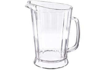 (1770ml) - Rubbermaid Commercial FG333400CLR Bouncer II Pitcher, 1770ml