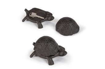 Abbott Collection Turtle Key Keeper, 11cm , Dark Brown