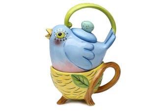 Appletree 18cm Flight of Fancy by Babs Ceramic Tea for One, 2-Piece Set