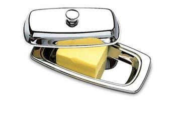 BRINOX Atina Butter Dish, Stainless Steel