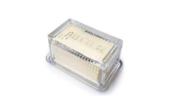 Abbott Collection Glass Butter Dish
