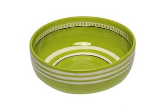 (Lime Green) - Thompson & Elm M. Bagwell Colours Ceramic Serving Bowl, Lime Green