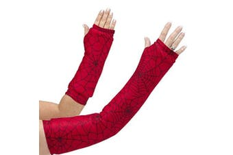 CastCoverz! Armz! Washable and Reusable Cast Cover in Wicked Webs - Medium Short