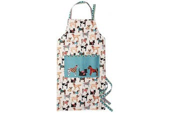 (Cotton Apron) - Ulster Weavers Hound Dogs Cotton Apron