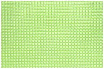 Harman Ribbon Vinyl Placemat, Green