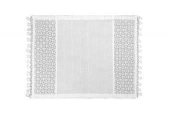 Heritage Lace Prima Placemat, 33cm by 48cm , White, Set of 2