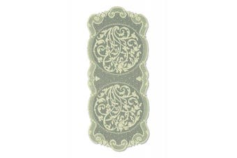 Heritage Lace RN-1433C Rondeau Table Runner, Cafe, 36cm x 80cm