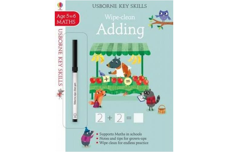 Wipe-Clean Adding 5-6 (Key Skills)
