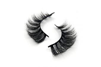 (M12) - Arison Lashes False Eyelashes 3D 100% Hand-made Natural Look for Makeup