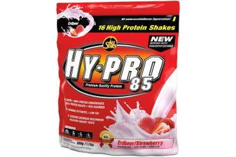 (Strawberry) - All Stars HY-PRO 500 g Strawberry 85 Protein - Pack of 1
