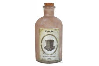 Large 1090ml Paris France 1900 Hat Vintage-Style Hand Blown Glass Apothecary Jar