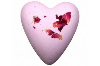 Megafizz Bath Hearts (Rose & Petals)