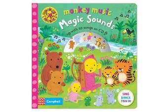 Monkey Music Magic Sounds: Book and CD Pack