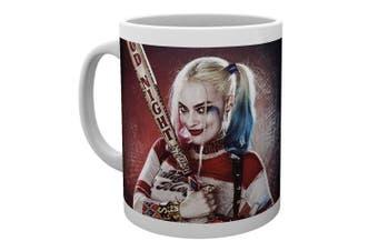 "(Multi-Colour, 15 x 10 x 9 cm) - GB eye Ltd ""Suicide Squad-Harley Quinn"" Good Night Mug, Wood, Multi-Colour"