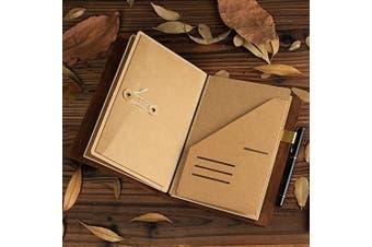 (A5) - Kraft Paper Pocket / Envelope for Traveller's Notebook (A5)