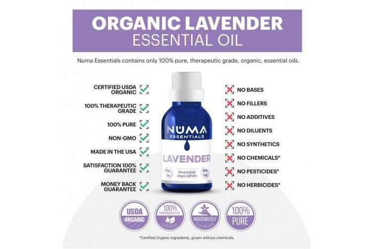 NUMA - Lavender 100% Pure Essential Oil - 15 mL