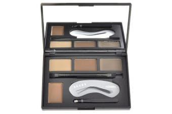 (Eyebrow Stamp Light Brown) - CCbeauty Eyebrow Powder Stamper Seal Kit Eyebrow Kit Powder Waterproof Makeup Eyebrow Tinting Colouring Kit,Light Brown