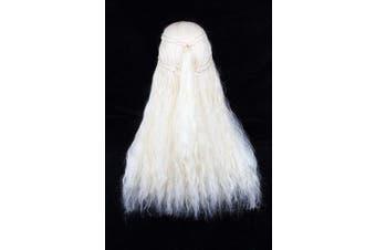(Blonde) - Angelaicos Fluffy Cosplay Wigs for Game of Thrones Daenerys Targaryen Long Blonde