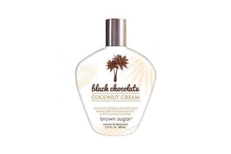 Brown Sugar BLACK CHOCOLATE COCONUT CREAM 200X Bronzer - 400ml