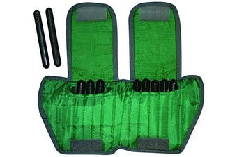 (2.3kg, Green, Adult Wrist Weight Adjustable, Pair) - the Cuff 10-3331-2 Ankle Weight, 2.3kg, 10 x 2.3kg Inserts, Green