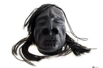 Head Halloween Loftus Mini Shrunken Decoration 7.6cm Prop, Black