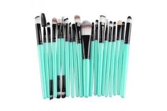(Black) - Cinidy 20 pcs Makeup Brush Set tools Make-up Toiletry Kit Wool Make Up Brush Set (Black )