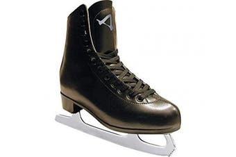 (5, Black) - American Athletic Shoe Men's Leather Lined Figure Skates