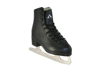 (3, Black) - American Athletic Shoe Boy's Tricot Lined Figure Skates