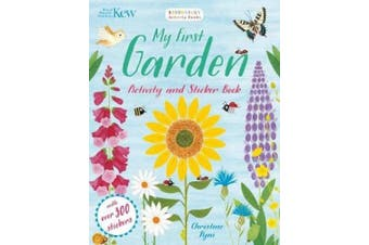 Kew My First Garden Activity and Sticker Book