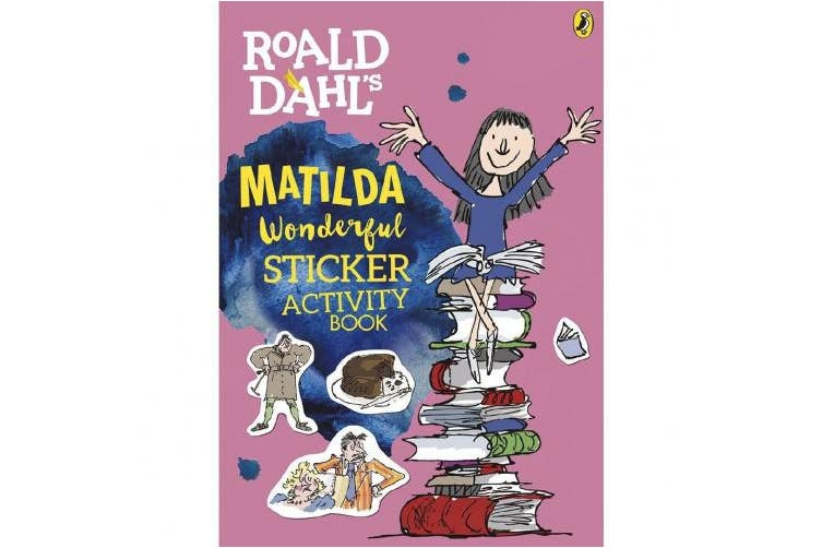 Roald Dahl's Matilda Wonderful Sticker Activity Book (Roald Dahl)