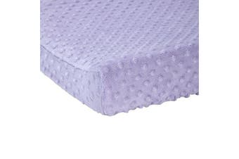 (Solid Orchid) - Carter's Changing Pad Cover, Solid Orchid, One Size