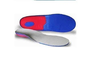 (Men's UK 8-13) - Full length Orthotic Insoles Arch Support, Heel Cup- pronation, flat feet fallen Body and Base Ltd TM (Men's UK 8-13)